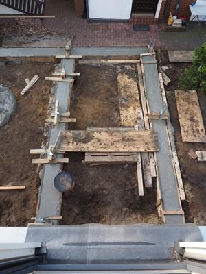 Fundament fürs Gartenhaus: Das Streifenfundament #01
