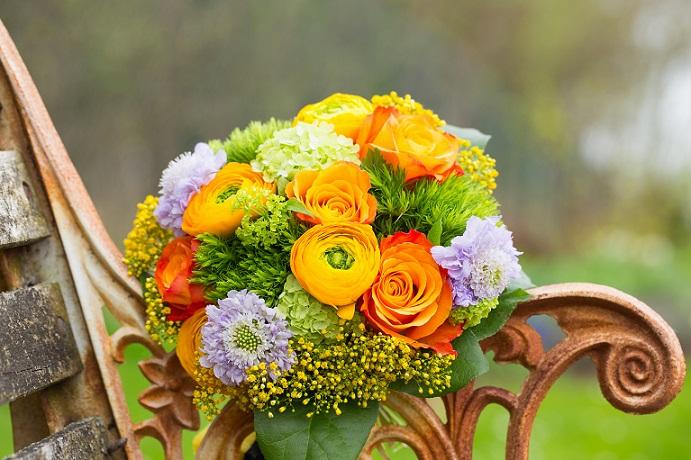 Geburtstag, Weihnachten oder Jahrestag – ein Blumenstrauß ist immer eine wundervolle Idee. (#01)