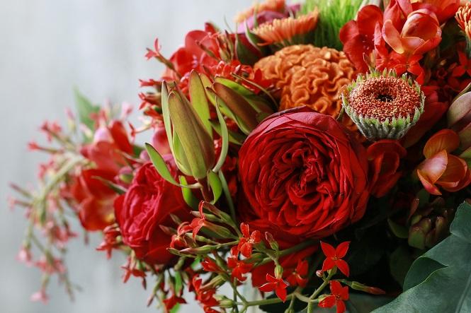 Egal, ob Sie nun Blumen selbst gepflückt, diese beim Gärtner gekauft oder online bestellt haben, die Freude wird groß sein.('#02)
