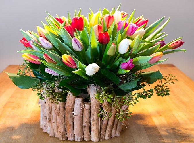 Auch wenn die Blumen keine lebenden Pflanzen mehr sind, sind die Anforderungen dennoch ähnlich wie bei Zimmerpflanzen. (#03)