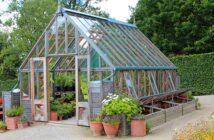 Ein Gewächshaus macht den Garten perfekt