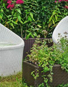 Blumenkübel aus Kunststoff: Praktisch, langlebig und formschön