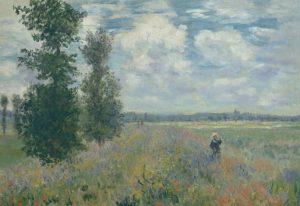 """Claude Monet: sein """"Mohnfeld bei Argenteuil"""" ließ Blumen auf magische Weise in die Kunstgeschichte eingehen.  (#2)"""