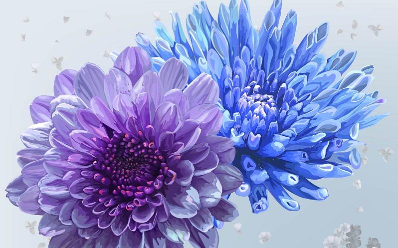 Nicht nur im Garten oder auf dem Balkon hat die blaue Blume eine besonders Bedeutung. ( Foto:  shutterstock_Weera S. Design )